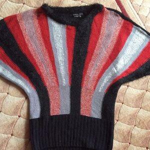 BCBG batwing sweater, medium, beautiful colors
